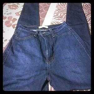 vibrant m.i.u. High waist skinny jeans